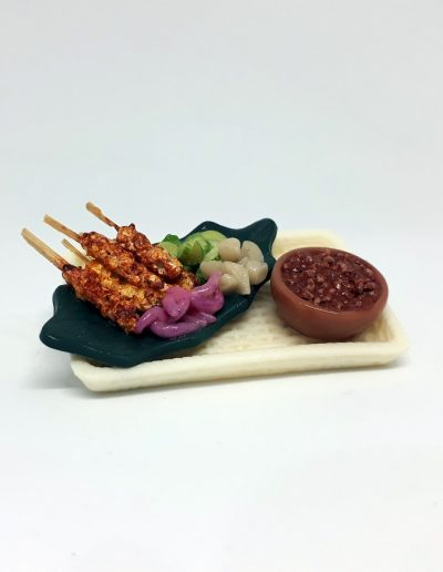 Malay: Chicken Satay Set