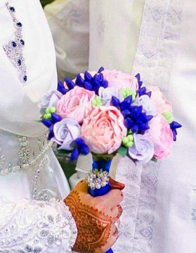 Pastel Pink & Blue Bouquet