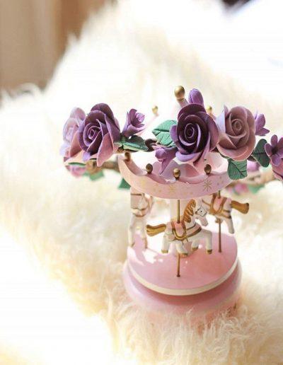Rosettes Floral Crown