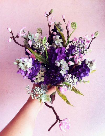 Lilac Handtied Bouquet