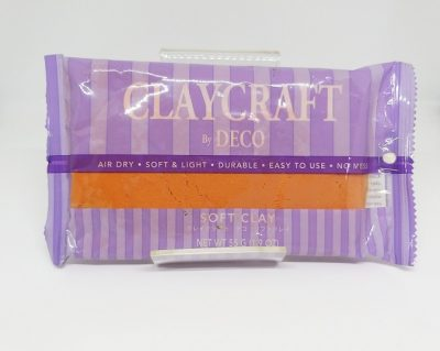 Orange Sherbert - CLAYCRAFT™ by DECO® Soft Clay