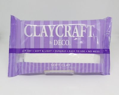 White - CLAYCRAFT™ by DECO® Soft Clay