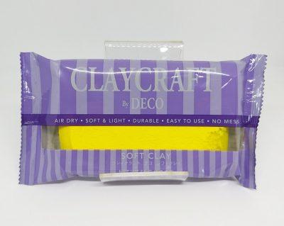 Yellow - CLAYCRAFT™ by DECO® Soft Clay