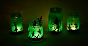FCS-GNK-LLI Collab Fairy Light Mason Jar Workshop
