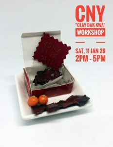 Miniature Bak Kwa Workshop