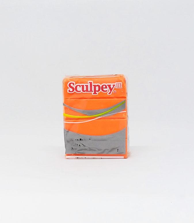 III Sculpey Orange
