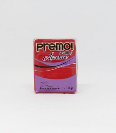 PREMO Accents Sculpey Red Glitter